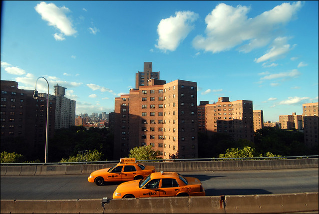 NYC apartment buildings. Photo by Bruno J. Navarro.