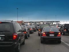 Bay Bridge traffic jam DSCN0362
