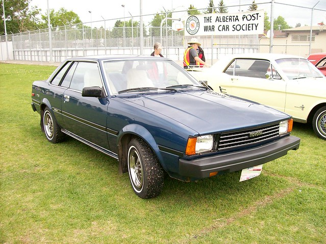 1982 Toyota Corolla SR5 http://www.flickr.com/photos/blondygirl/2559092271/