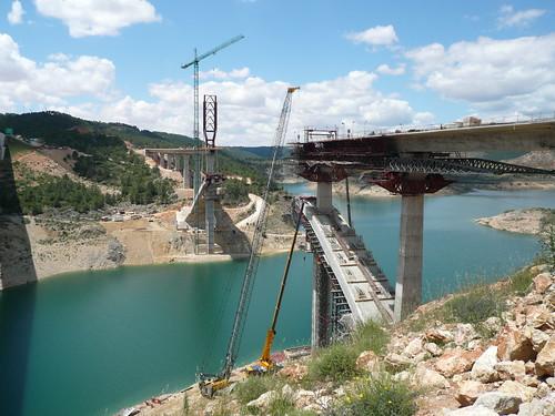 Viaducto de Contreras (Linea A.V. Madrid-Valencia)