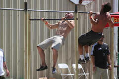 sport venue, sports, muscle, physical fitness, pull-up,