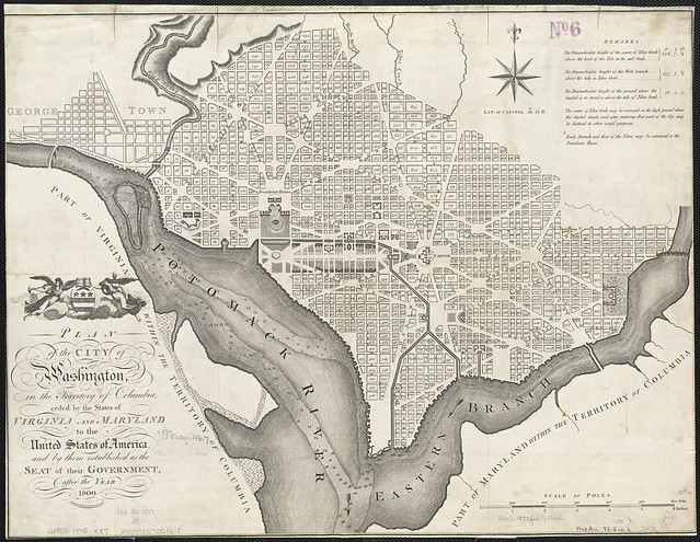 Plan of the city of Washington[...]