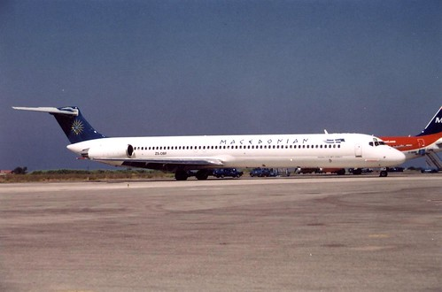 MACEDONIAN MD-82 ZS-OBF(cn1001)