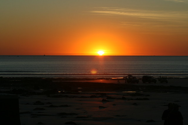 Broome Beach Sunset