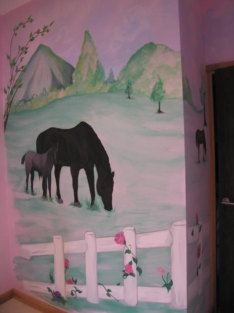 horse wall murals 2017 grasscloth wallpaper 7 horses wall mural contemporary wallpaper by murals