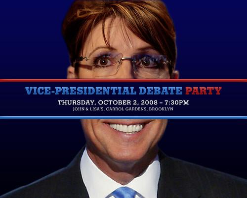 V.P. Debate Party
