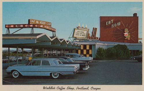 Waddle's Coffee Shop - Portland, Oregon by What Makes The Pie Shops Tick?