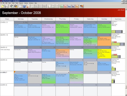 Training calendar template new calendar template site for Training calendars templates