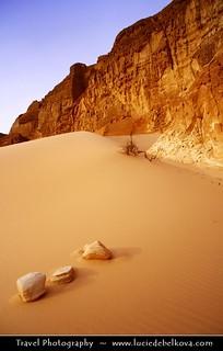 Egypt - Soft Sands and Rough Rocks of Sinai Desert