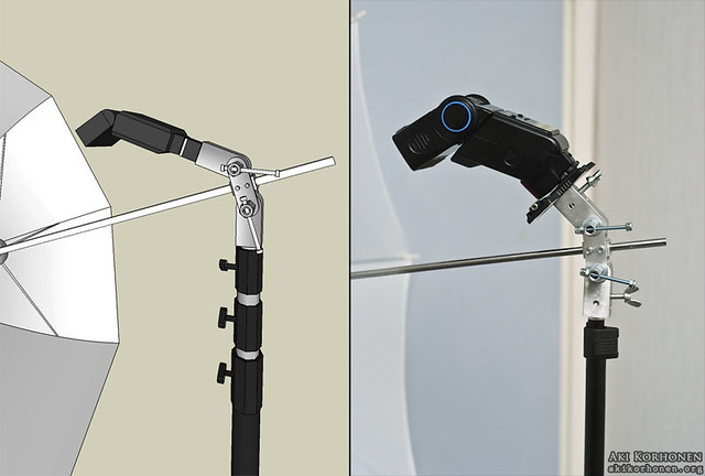 Flash / Umbrella Bracket - ephotoinc.com