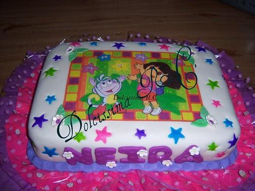 Modelos de tartas de Dora la Exploradora - Imagui