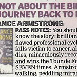 "Lance Armstrong is a ""peddling miracle"""