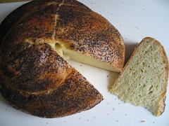rye(0.0), whole grain(0.0), sliced bread(0.0), baking(1.0), bread(1.0), rye bread(1.0), baked goods(1.0), ciabatta(1.0), food(1.0), brown bread(1.0), sourdough(1.0),