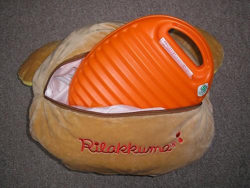 Rilakkuma Yutanpo (hot water bottle)