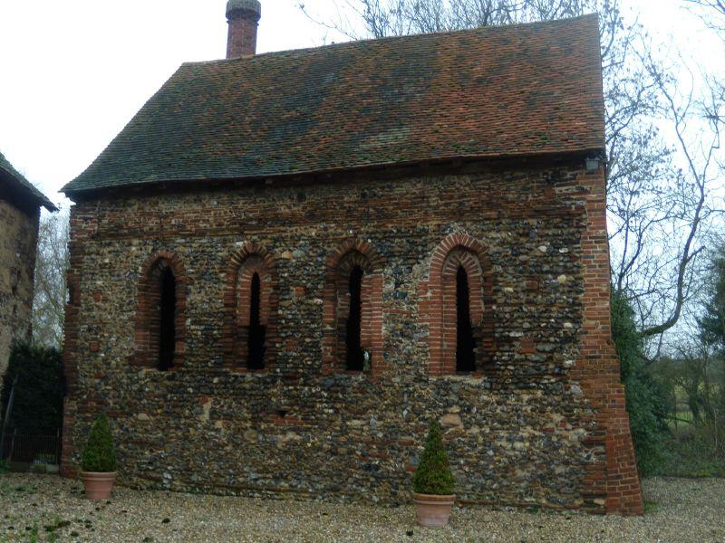 Old chapel Kelvedon circular
