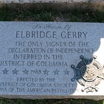 Elbridge Gerry Granite Marker