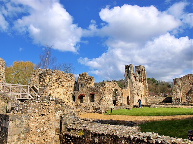 Wolvesey Castle take 3 - Winchester