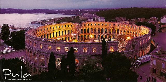 Croatia-Pula arena