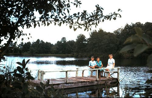 1969-08-34 Miller & Mamie's lake - Ellenwood, GA_