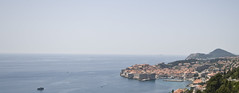Dubrovnik's Old Town From a Distance