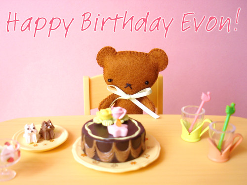 Happy Birthday dear Evon!