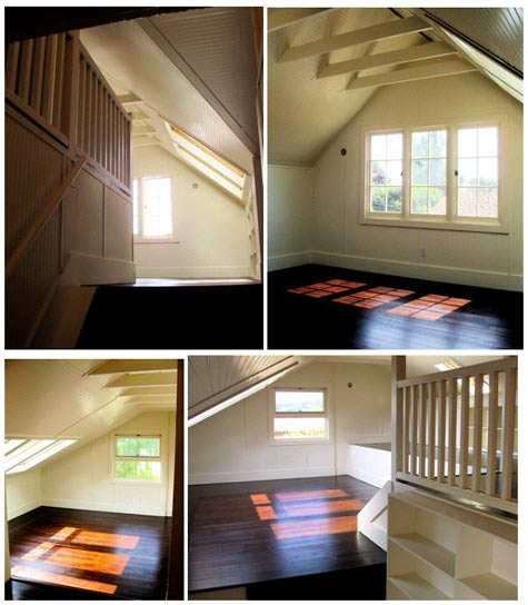 before and after leah's attic – Design Sponge