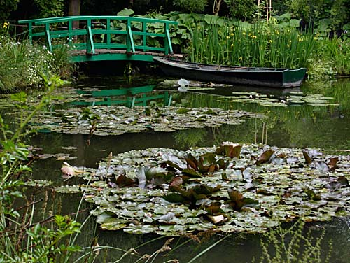 Claude Monet's waterlily pond