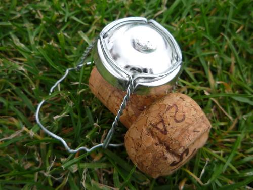 Bouchon de bouteille de cidre