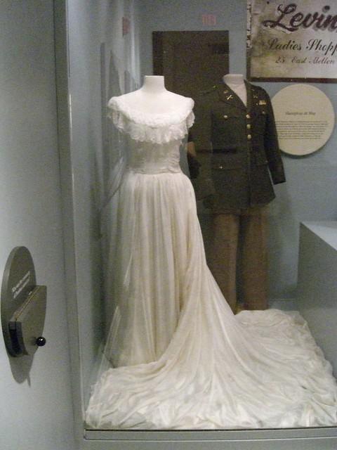 Grammy's Silk Parachute Wedding Dress