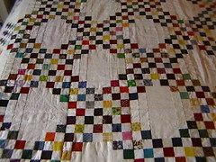 I still need to quilt the center squares