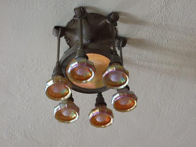 Tiffany Light Fixtures Dining Room