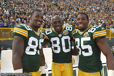 Donald Driver on James Jones  Donald Driver  And Greg Jennings   Flickr   Photo Sharing