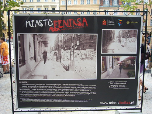 Photo exhibit at Miasto Feniksa