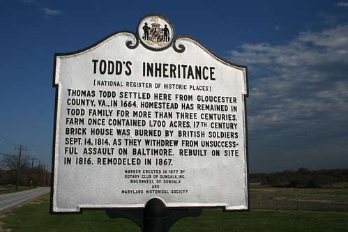 Todds Inheritance