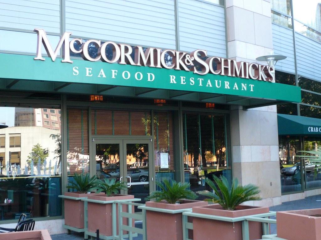 Mccormicks And Schmicks Seafood Restaurant San Jose Flickr