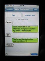 Efficient texting