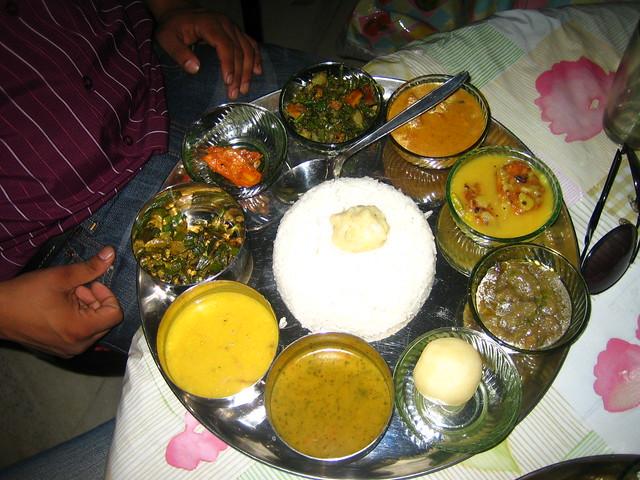 Assamese thali flickr photo sharing for Assamese cuisine
