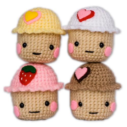 Amigurumi Cute Cupcake : Amigurumi Kawaii Cupcakes Flickr - Photo Sharing!