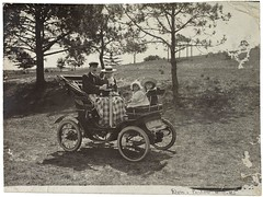 Perier family in de Dion voiturette, c.1903