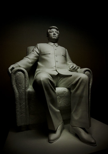 Kim Il Sung statue  Korean Central History Museum - North Korea