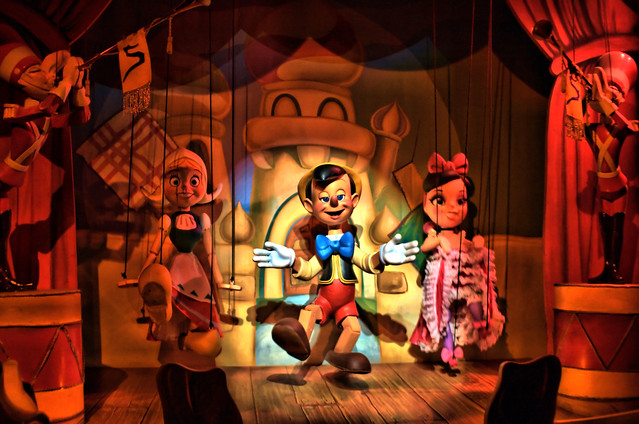 Disney There Are No Strings On Me Pinocchio S Daring