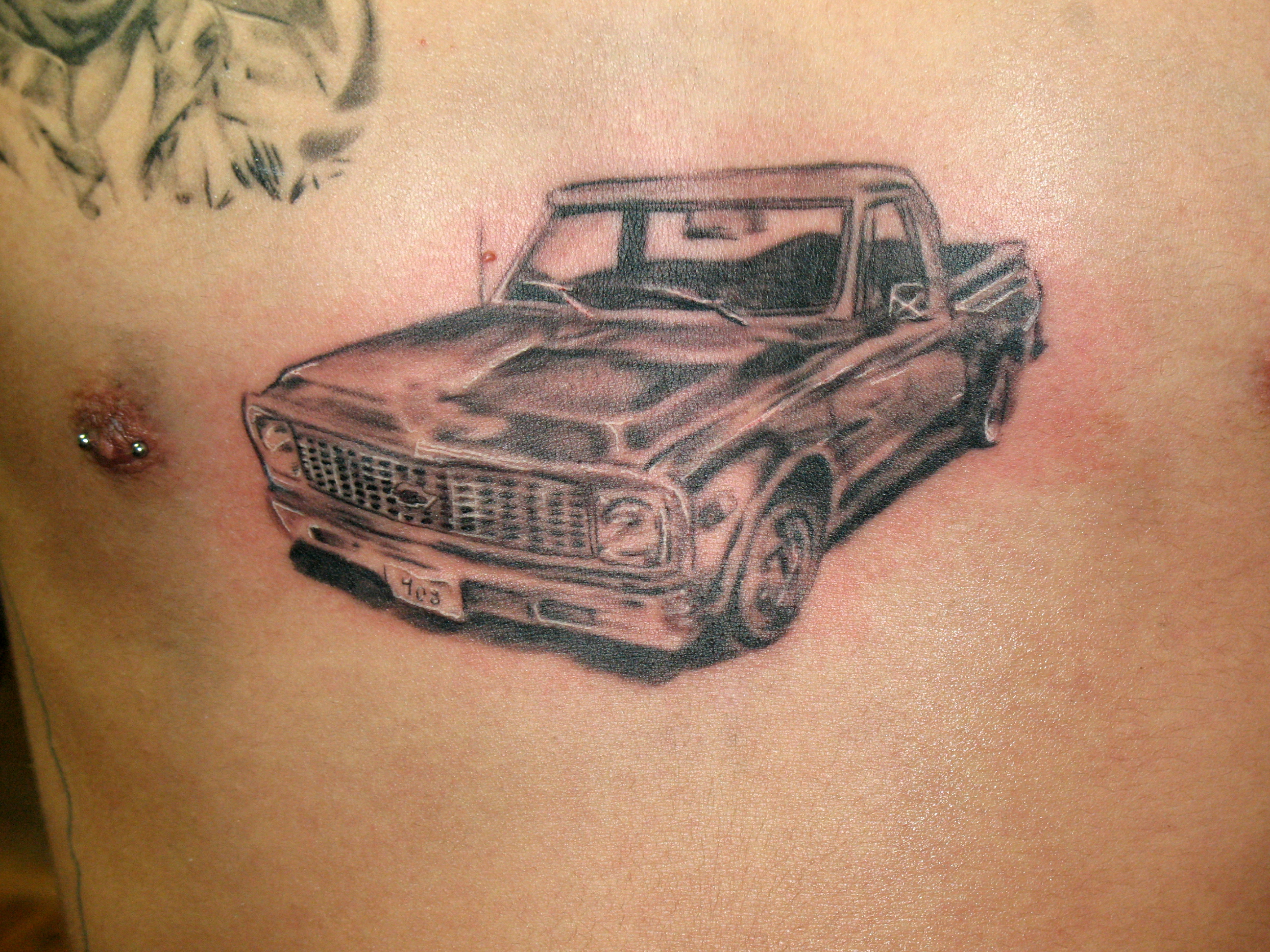 chevrolet tattoo pictures pictures to pin on pinterest tattooskid. Black Bedroom Furniture Sets. Home Design Ideas