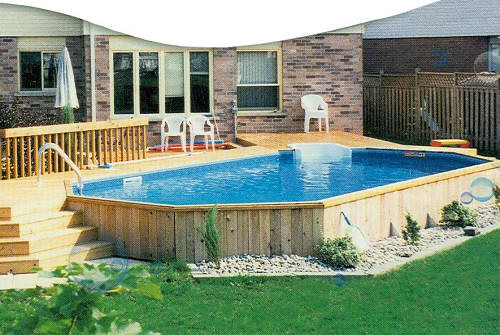Small Semi Inground Pools http://www.flickr.com/photos/propools/2964509313/