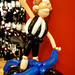 Alan Shearer's bike balloon effigy