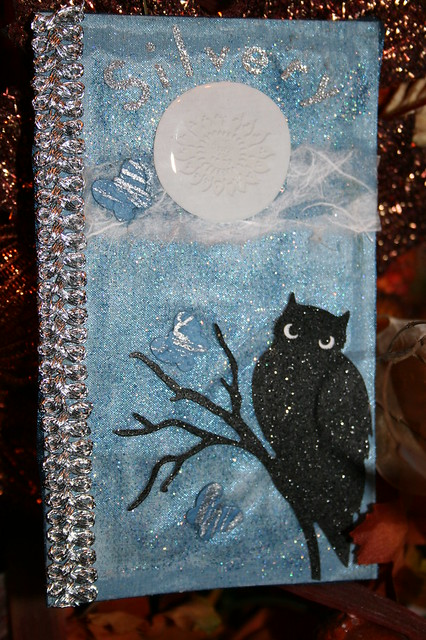 Silvery Moon skinny card