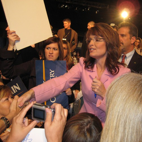 Gov. Sarah Palin, Oct. 26, 2008, Tampa, Fla.