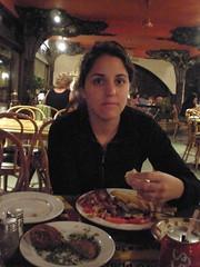 Anna and Egyptian food