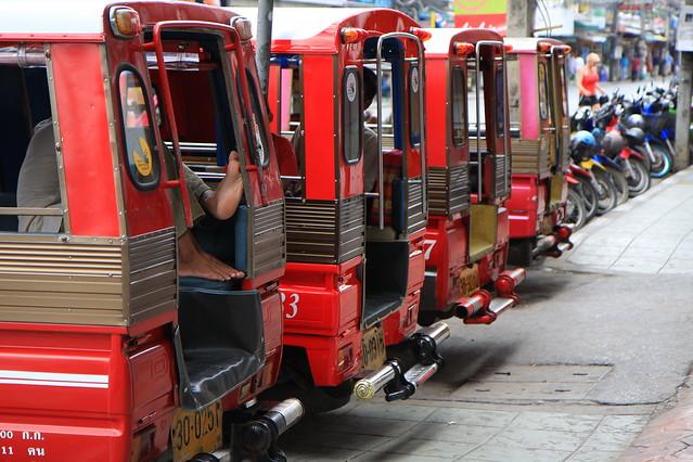 Phuket Tuktuks