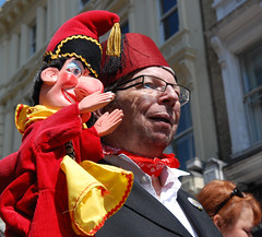 Covent Garden May Fayre and Puppet Show