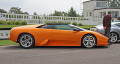 lamborghini reventã³n(0.0), automobile(1.0), lamborghini(1.0), wheel(1.0), vehicle(1.0), performance car(1.0), automotive design(1.0), land vehicle(1.0), luxury vehicle(1.0), lamborghini diablo(1.0), lamborghini murciã©lago(1.0), supercar(1.0), sports car(1.0),